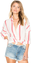 Maison Scotch Loose Fitted Shirt