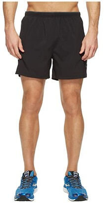 Brooks Go-To 5 Shorts (Black) Men's Shorts