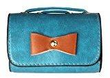 HP95(TM) Women Envelope Design PU Leather Crossbody Handbag Tote Bags Purse (Blue)