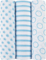 IDEAL BABY ideal baby by the makers of aden + anais 3-pk. Swaddles - Sunny Side