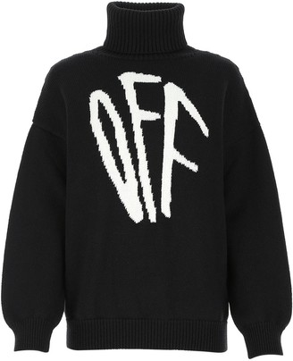 Off-White Roll Neck Sweater