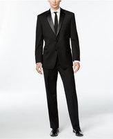 Calvin Klein Black Two-Button Slim-Fit Tuxedo