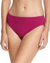 Gottex Jezebel High Waist Bikini Bottom, Wine