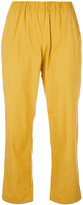 Water cropped lounge trousers