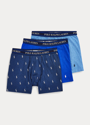 Ralph Lauren Stretch Boxer Brief 3-Pack