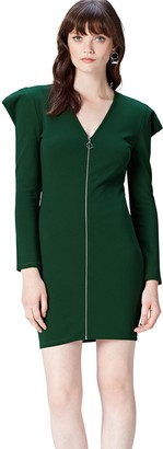Find. Amazon Brand Women's Zip Front Jersey Dress
