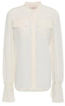 Tory Burch Silk Crepe De Chine Shirt
