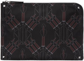 Valentino Black Love Blade Document Holder