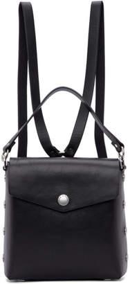Rag & Bone Black Leather Atlas Backpack