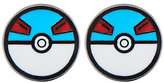 Pokemon Enamel Great Ball Stainless Steel StudEarrings