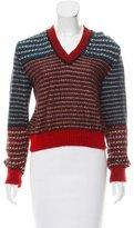 Kenzo Wool-Blend Knit Sweater