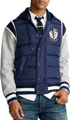Polo Ralph Lauren Puffer-Front Baseball Jacket