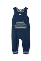 Country Road Stripe Overalls
