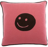 Smiley Face Pillow- Pink