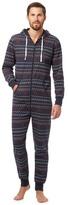 Mantaray Navy Fair Isle Pyjama Onesie