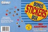 Paper Magic 609250 Eureka Sticker Bonus Box, 3,960 Mini-Stickers