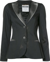 Moschino printed blazer effect jacket