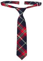 Andy & Evan Red Holiday Plaid Tie