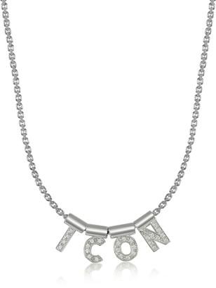 Nomination Sterling Silver and Swarovski Zirconia Icon Necklace
