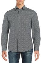 Perry Ellis Textured Sportshirt