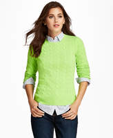 cashmere sweater lime green - ShopStyle