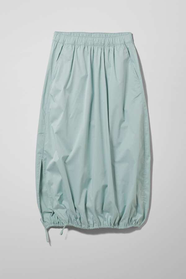Thumbnail for your product : Weekday Deja Skirt - Turquoise