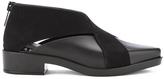 Melissa Women's X Flat Ankle Boots Black Flock