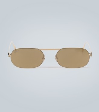 Cartier Eyewear Collection Oval sunglasses