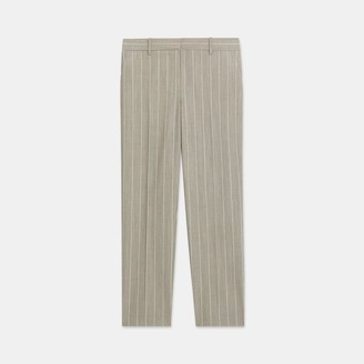 Theory Treeca Pant in Striped Good Wool