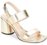 Marc Jacobs Emilie Leather Sandal Heels