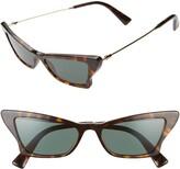 Valentino 53mm Cat Eye Sunglasses