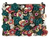 Franchi Floral Accented Clutch