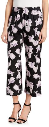 Rebecca Taylor Ikat Blossom Ankle Pants