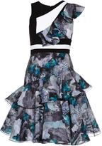 Prabal Gurung Floral-print tiered dress
