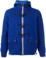 Bark hooded jacket - men - Polyamide/Wool - L