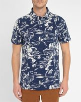 Gant Flowers All Over Pique Knit Polo Shirt