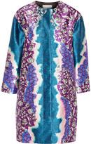 Peter Pilotto Printed silk-twill coat