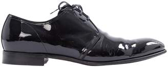 Dolce & Gabbana Black Patent leather Lace ups