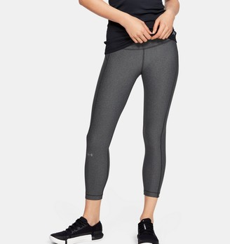 Under Armour Women's HeatGear Armour High-Rise Ankle Crop
