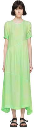 Collina Strada Green Tie-Dye Ritual Dress