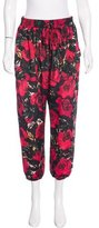 Anna Sui Cropped Floral Pants w/ Tags