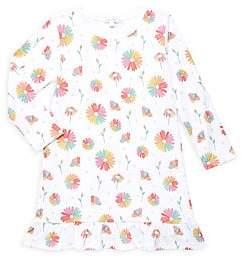 Baby Noomie Little Girl's & Girl's Daisy Ruffled Pima Cotton Dress