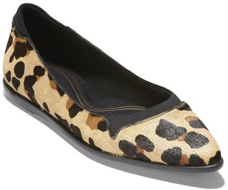 Cole Haan Grand Ambition Skimmer Haircalf Flat