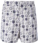 Golden Goose Deluxe Brand 'Greg' reversible swim shorts - men - Polyamide/Polyester - S