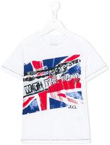 John Galliano flag print T-shirt - kids - Cotton - 12 yrs