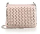 Christian Louboutin Triloubi Triple-Gusset Spiked Leather Shoulder Bag