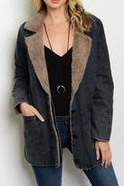 LoveRiche Shearling Lined Coat