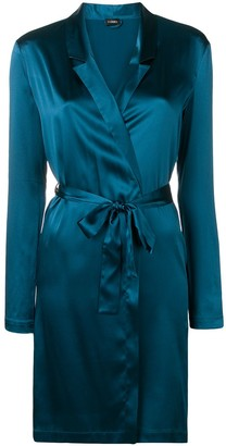 La Perla Reward belted satin robe