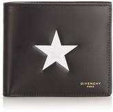 Givenchy Star-print Leather Wallet