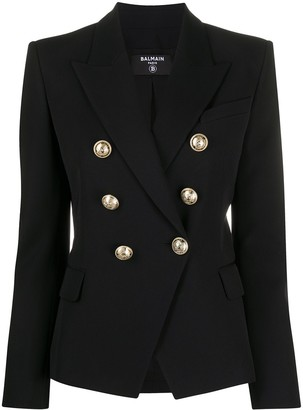 Balmain Double-Breasted Fitted Blazer